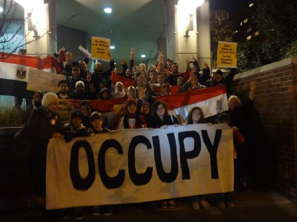occupy egyptian consulate