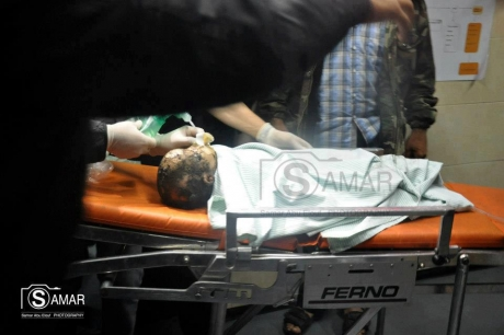 Child Killed By Israeli Shells