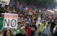 Anti-austerity protests grip 56 Spanish cities photo
