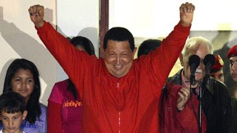 Venezuela's Chavez wins fourth term as president