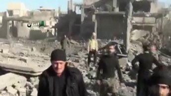 More than 100 dead in regime assault near Homs