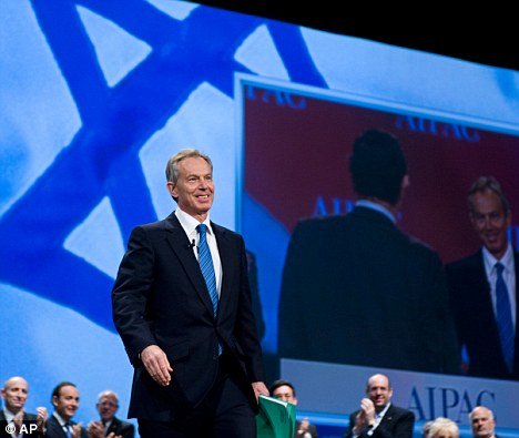 Image result for Tony Blair Israel